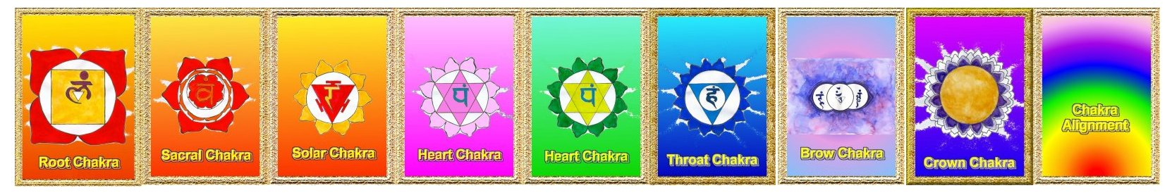 Chakra Essences by hazel Raven