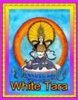White Tara  Angel Essence by Hazel Raven