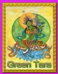 Green Tara  Angel Essence by Hazel Raven