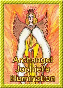 Jophiel  Angel Essence by Hazel Raven
