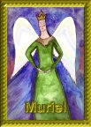 Muriel  Angel Essence by Hazel Raven